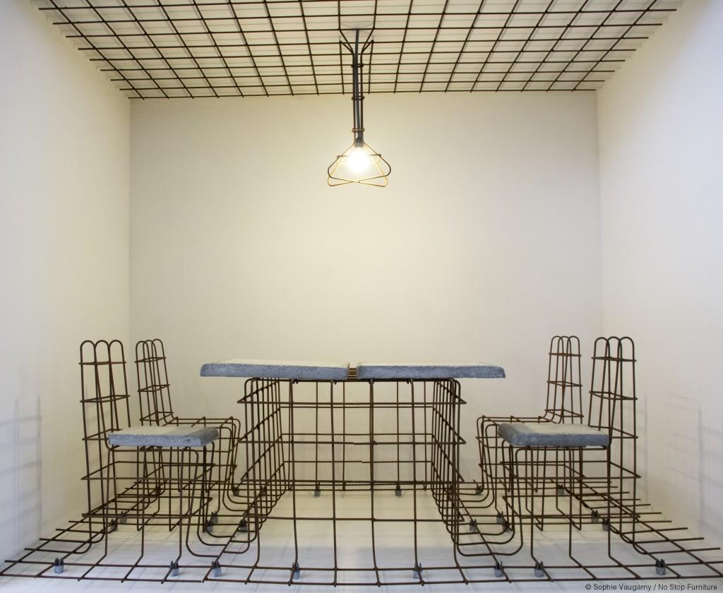 © Sophie Vaugarny / No Stop Furniture / 2015 / Biennale Internationale Design St Etienne / Crédits photos : Sophie Vaugarny